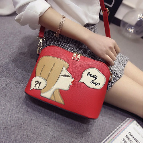 B1254 IDR.143.000 MATERIAL PU SIZE L23XH17XW10CM WEIGHT 500GR COLOR RED