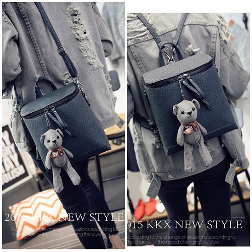 B1393 IDR.175.000 MATERIAL PU SIZE L23XH25XW11CM WEIGHT 750GR COLOR GRAY