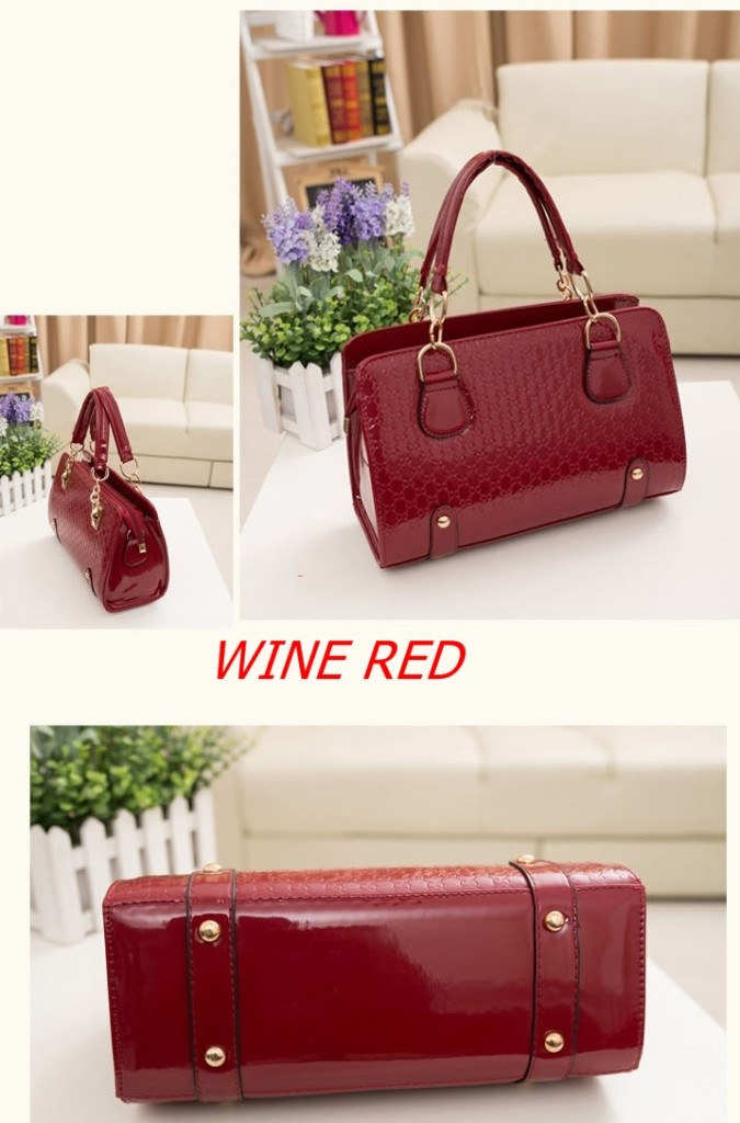 B1401 IDR.188.000 MATERIAL PU SIZE L30XH20XW12CM WEIGHT 800GR COLOR WINE