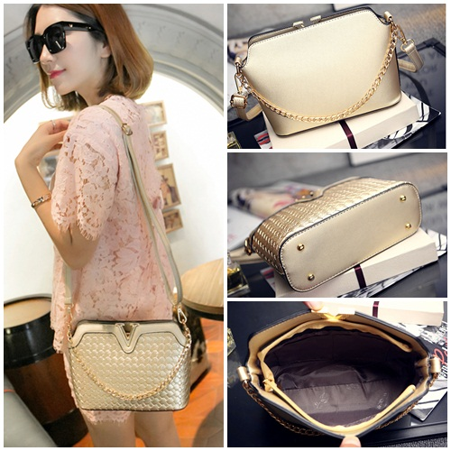 B1521 IDR.151.000 MATERIAL PU SIZE L23XH17XW9CM WEIGHT 600GR COLOR GOLD