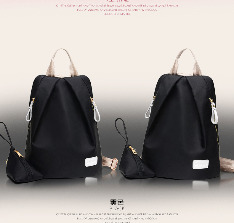 B1583 IDR.170.000 MATERIAL NYLON SIZE L35XH26XW18CM WEIGHT 600GR COLOR BLACK