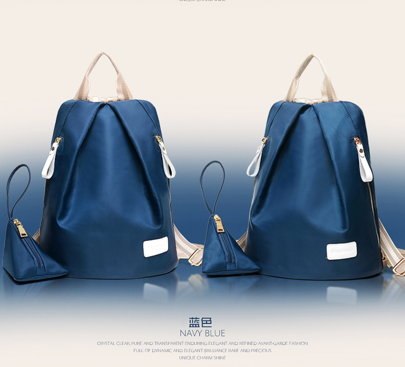 B1583 IDR.170.000 MATERIAL NYLON SIZE L35XH26XW18CM WEIGHT 600GR COLOR BLUE