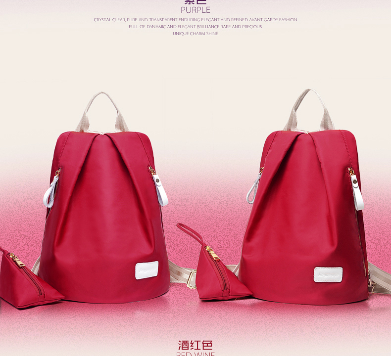 B1583 IDR.170.000 MATERIAL NYLON SIZE L35XH26XW18CM WEIGHT 600GR COLOR RED