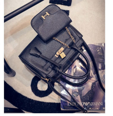B1601-(2in1) IDR.205.000 MATERIAL PU SIZE L25XH15XW12CM WEIGHT 850GR COLOR BLACK