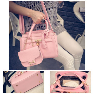 B1601-(2in1) IDR.205.000 MATERIAL PU SIZE L25XH15XW12CM WEIGHT 850GR COLOR PINK