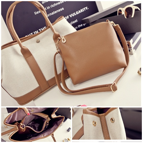 B1627(2in1) IDR.192.000 MATERIAL CANVAS SIZE L32-40XH25XW17CM WEIGHT 800GR COLOR ASPHOTO
