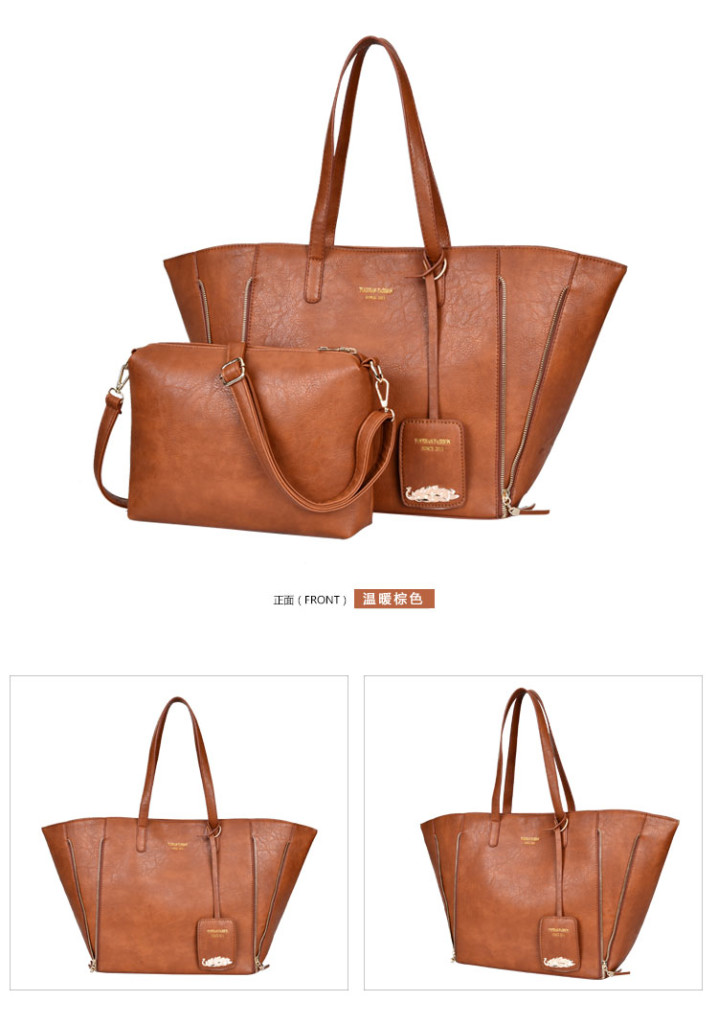 B1631(2in1) IDR.207.000 MATERIAL PU SIZE L50XH31XW15CM WEIGHT 1100GR COLOR BROWN