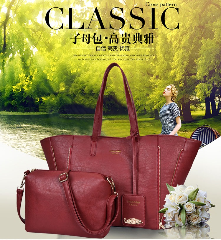 B1631(2in1) IDR.207.000 MATERIAL PU SIZE L50XH31XW15CM WEIGHT 1100GR COLOR RED
