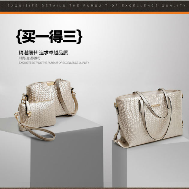 B1642-(3in1) IDR.220.000 MATERIAL PU SIZE L45XH31XW2CM WEIGHT 900GR COLOR GOLD