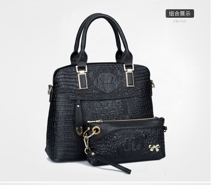 B1643-(2in1) IDR.250.000 MATERIAL PU SIZE L34XH27XW15CM WEIGHT 1200GR COLOR BLACK