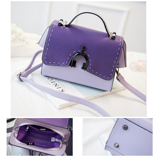 B1651 IDR.176.000 MATERIAL PU SIZE L22XH11XW8CM WEIGHT 600GR COLOR PURPLE
