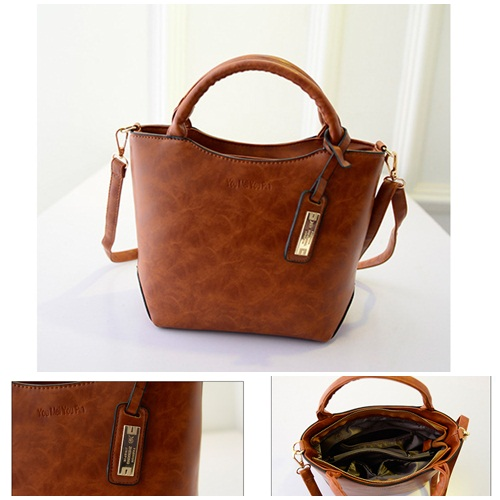 B1655 IDR.185.000 MATERIAL PU SIZE L27-22XH23XW12CM WEIGHT 700GR COLOR BROWN
