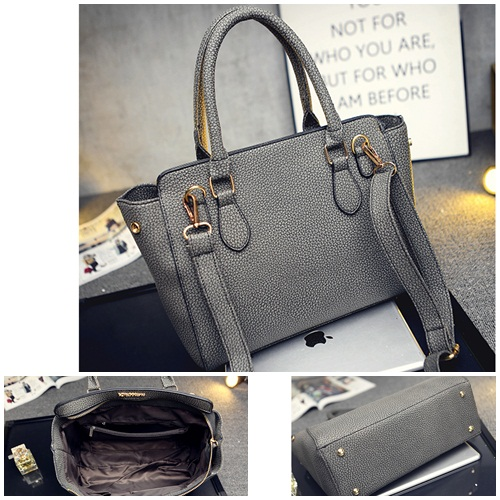 B1661 IDR.199.000 MATERIAL PU SIZE L30XH24XW11CM WEIGHT 800GR COLOR GRAY