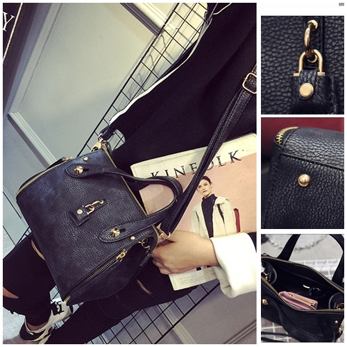 B1675 IDR.203.000 MATERIAL PU SIZE L19-24XH19XW13CM WEIGHT 700GR COLOR BLACK