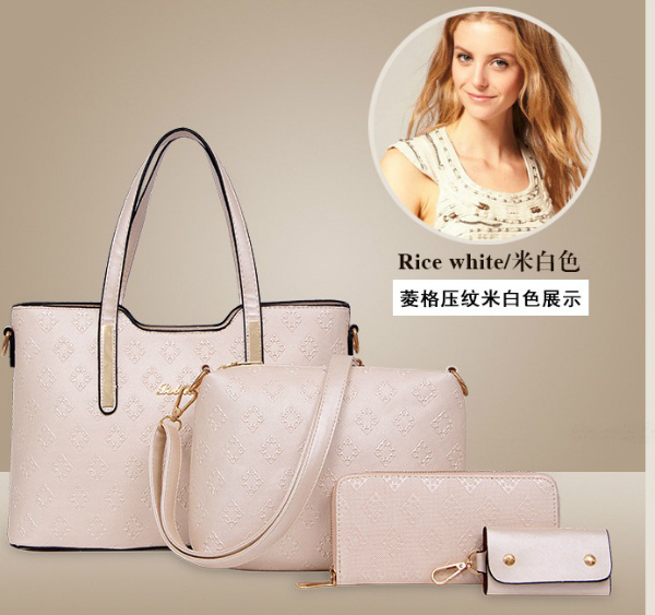B1683-(4in1) IDR.205.000 MATERIAL PU SIZE L33XH23XW13CM WEIGHT 1300GR COLOR BEIGE