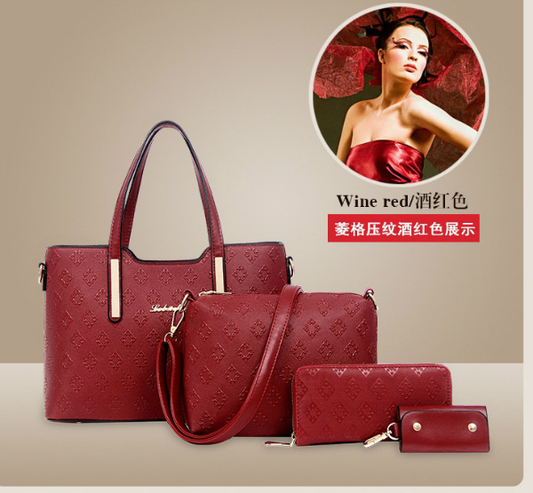B1683-(4in1) IDR.205.000 MATERIAL PU SIZE L33XH23XW13CM WEIGHT 1300GR COLOR RED