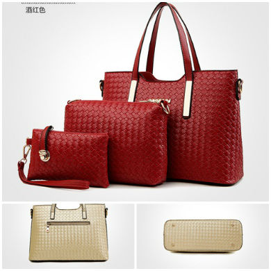 B1701-(3in1) IDR.215.000 MATERIAL PU SIZE L34XH24XW14CM WEIGHT 1200GR COLOR RED