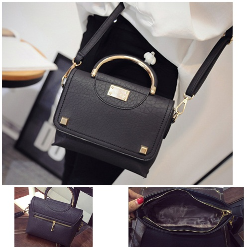 B1717 IDR.193.000 MATERIAL PU SIZE L20XH18XW6CM WEIGHT 700GR COLOR BLACK