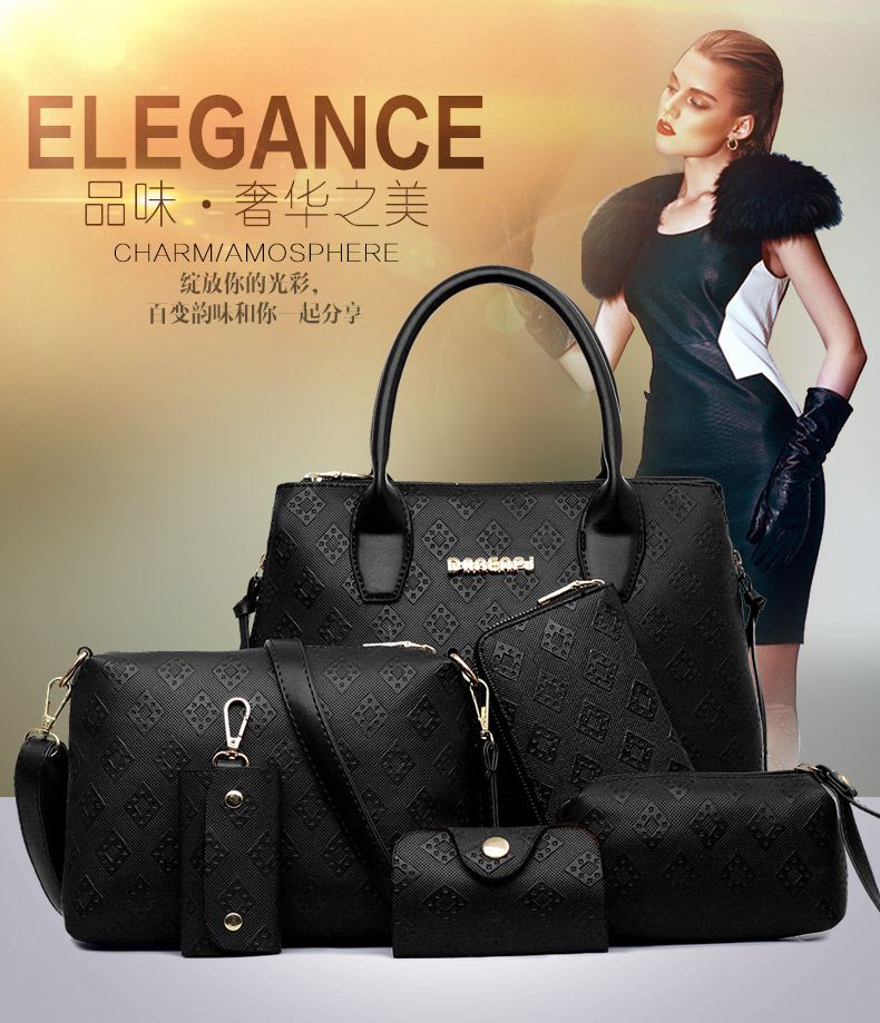 B1745-(6in1) IDR.245.000 MATERIAL PU SIZE L35XH29XW14CM WEIGHT 1500GR COLOR BLACK