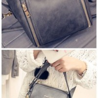 B1775 IDR.198.000 MATERIAL PU SIZE L21XH22XW13CM WEIGHT 750GR COLOR GRAY