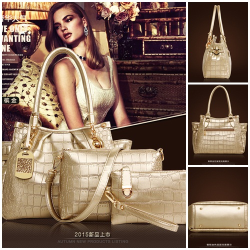B1800 (3in1) IDR.240.000 MATERIAL PU SIZE L32XH23XW15CM WEIGHT 1200GR COLOR GOLD