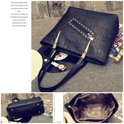 B1850 IDR.178.000 MATERIAL PU SIZE L34XH31XW13CM WEIGHT 750GR COLOR BLACK