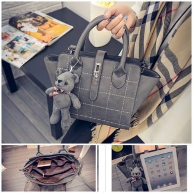B1856 IDR.186.000 MATERIAL PU SIZE L24XH21XW15CM WEIGHT 800GR COLOR GRAY