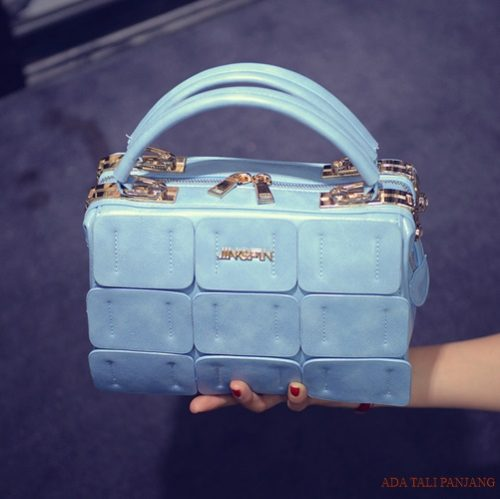 B1866 MATERIAL PU SIZE L24XH16XW12CM WEIGHT 800GR COLOR BLUE