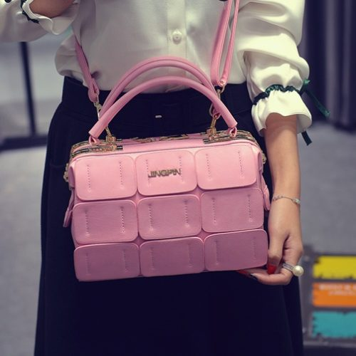 B1866 MATERIAL PU SIZE L24XH16XW12CM WEIGHT 800GR COLOR PINK