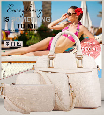 B1867-(3in1) IDR.270.000 MATERIAL PU SIZE L34XH25XW14CM WEIGHT 1200GR COLOR BEIGE