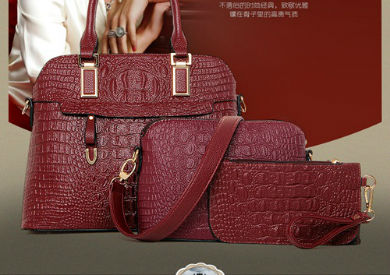 B1867-(3in1) IDR.270.000 MATERIAL PU SIZE L34XH25XW14CM WEIGHT 1200GR COLOR WINERED