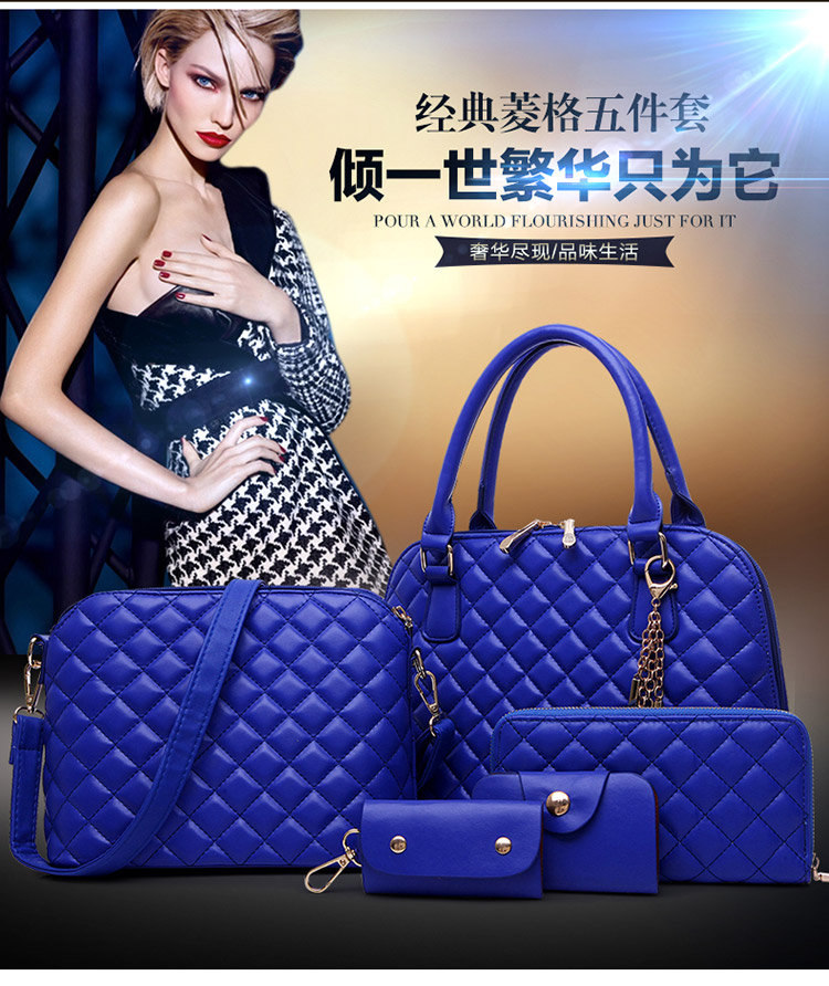 B1878-(5in1) IDR.215.000 TAS FASHION MATERIAL PU SIZE L32XH22XW13CM WEIGHT 1600GR COLOR BLUE