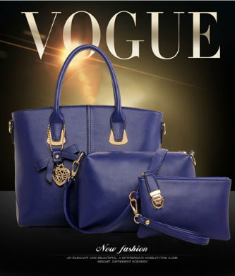 B1928-(3in1) IDR.235.000 MATERIAL PU SIZE L29XH24XW13CM WEIGHT 1300GR COLOR BLUE