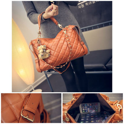 B1943 IDR.178.000 MATERIAL PU SIZE L37XH24XW9CM WEIGHT 700GR COLOR BROWN
