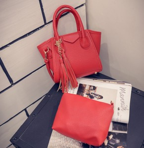 B1952-(2in1) IDR.177.000 MATERIAL PU SIZE L17XH14XW5CM WEIGHT 700GR COLOR RED
