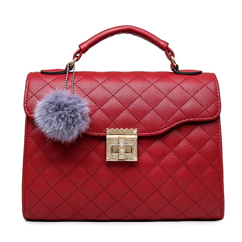 B1956 IDR.169.000 MATERIAL PU SIZE L26XH20XW10CM WEIGHT 700GR COLOR RED