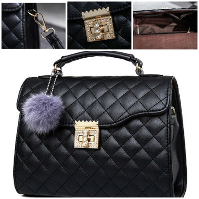 B1956 IDR.182.000 MATERIAL PU SIZE L26XH20XW10CM WEIGHT 800GR COLOR BLACK