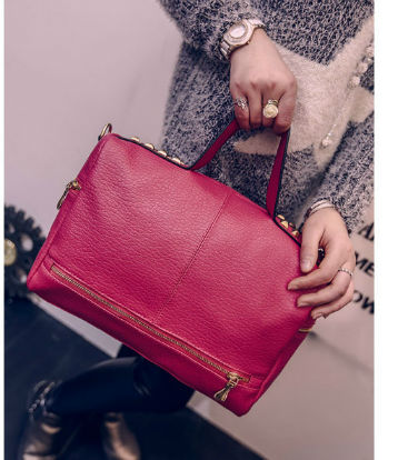 B1962 IDR.173.000 MATERIAL PU SIZE L32XH21XW14CM WEIGHT 700GR COLOR ROSE
