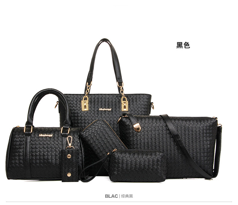 B1964-(6in1) IDR.225.000 MATERIAL PU SIZE L29XH28XW13CM WEIGHT 1300GR COLOR BLACK