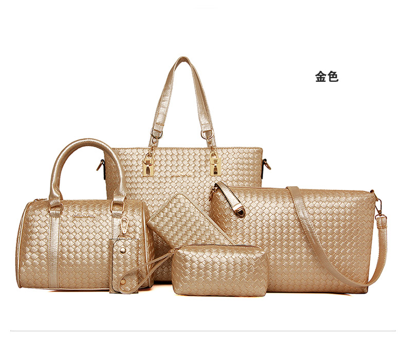 B1964-(6in1) IDR.225.000 MATERIAL PU SIZE L29XH28XW13CM WEIGHT 1300GR COLOR GOLD