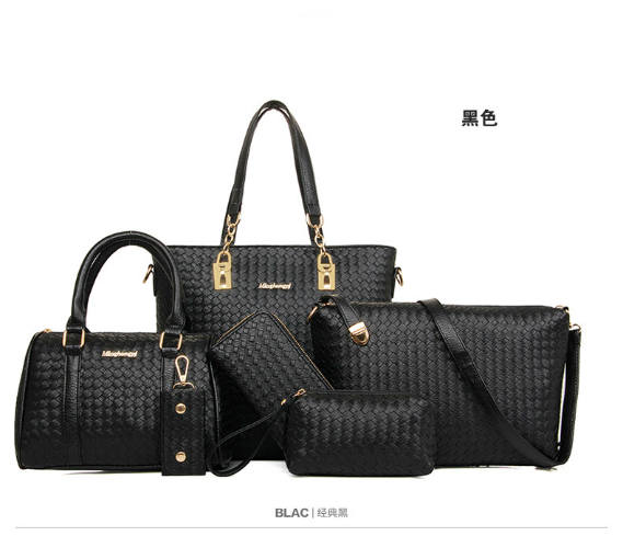B1964-(6in1) IDR.240.000 MATERIAL PU SIZE L29XH3=28XW13CM WEIGHT 1300GR COLOR BLACK