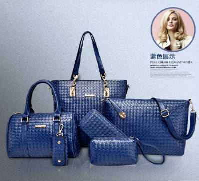 B1964-(6in1) IDR.240.000 MATERIAL PU SIZE L29XH3=28XW13CM WEIGHT 1300GR COLOR BLUE
