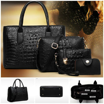 B1972-(4in1) IDR.225.000 MATERIAL PU SIZE L33XH23XW15CM WEIGHT 1300GR COLOR BLACK