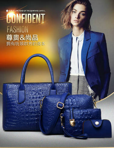 B1972-(4in1) IDR.225.000 MATERIAL PU SIZE L33XH23XW15CM WEIGHT 1300GR COLOR BLUE