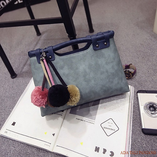 B2016 IDR.182.000 MATERIAL PU SIZE L35XH20XW10CM WEIGHT 700GR COLOR BLUE