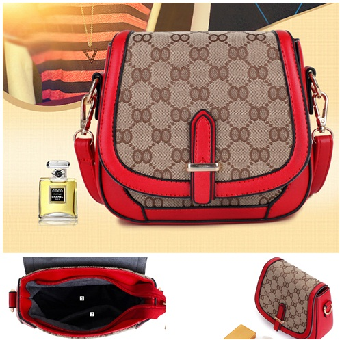 B2022 IDR.166.000 MATERIAL CANVAS SIZE L19XH17XW7CM WEIGHT 700GR COLOR RED