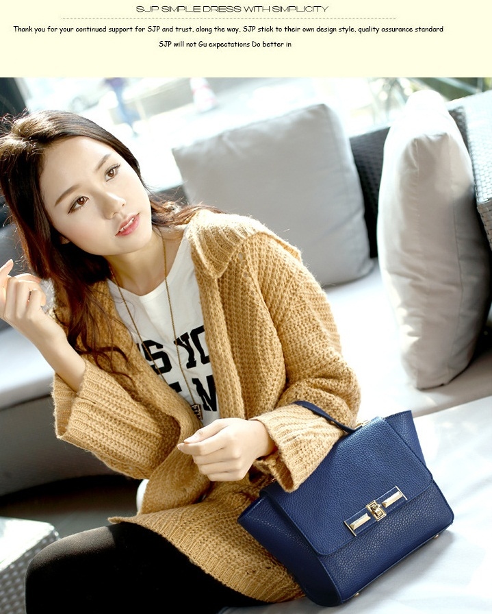 B203 IDR.205.000 MATERIAL PU SIZE L32XH19XW11CM WEIGHT 650GR COLOR BLUE