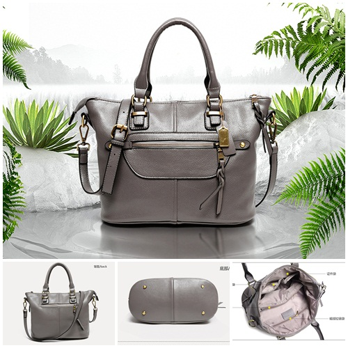 B2041 - Harga sebelum Diskon IDR.206.000 MATERIAL PU SIZE L30XH24XW15CM WEIGHT 850GR COLOR GRAY