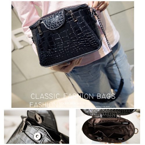 B2060 IDR.172.000 MATERIAL PU SIZE L23XH18XW9CM WEIGHT 650GR COLOR BLACK