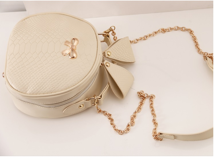 B2072 IDR.142.000 MATERIAL PU SIZE L19XH20XW8CM WEIGHT 550GR COLOR BEIGE